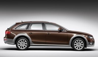 Nowe Audi jedzie w błoto…
