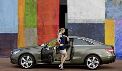 Oto nowy Mercedes klasy E coupe