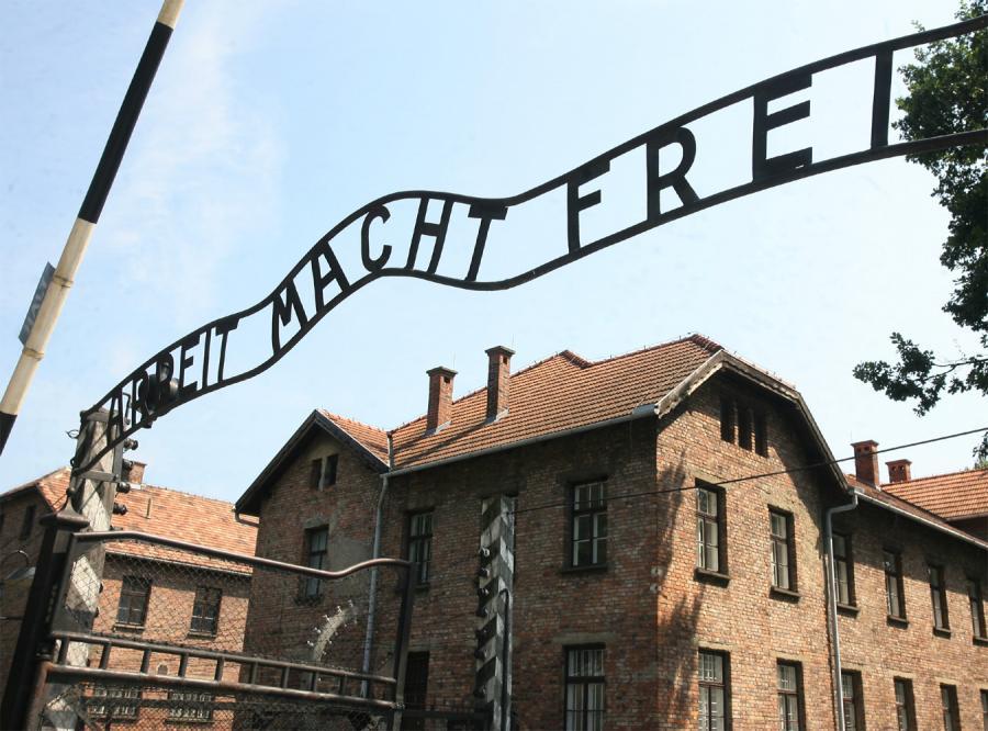 Były hitlerowski obóz koncentracyjny Auschwitz