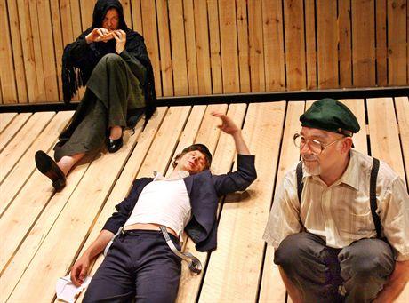 05.06.2007 Warszawa Teatr Maly. proba do spektaklu \