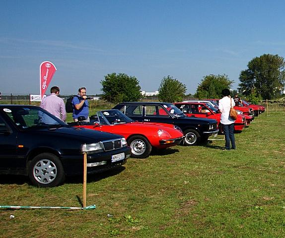 Zdjęcie ze spotkania organizowanego przez klub ForzaItalia.pl