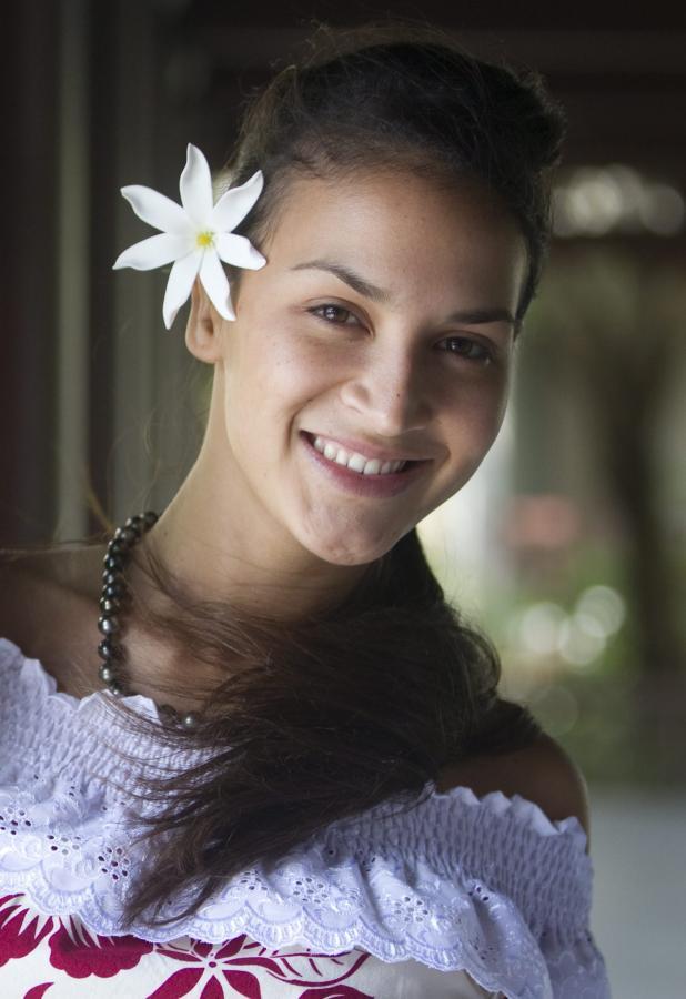 Mihilani Teixeira z Polinezji