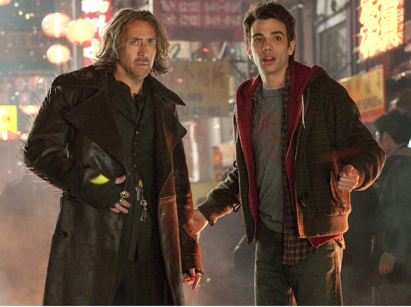 Nicolas Cage i jego uczeń