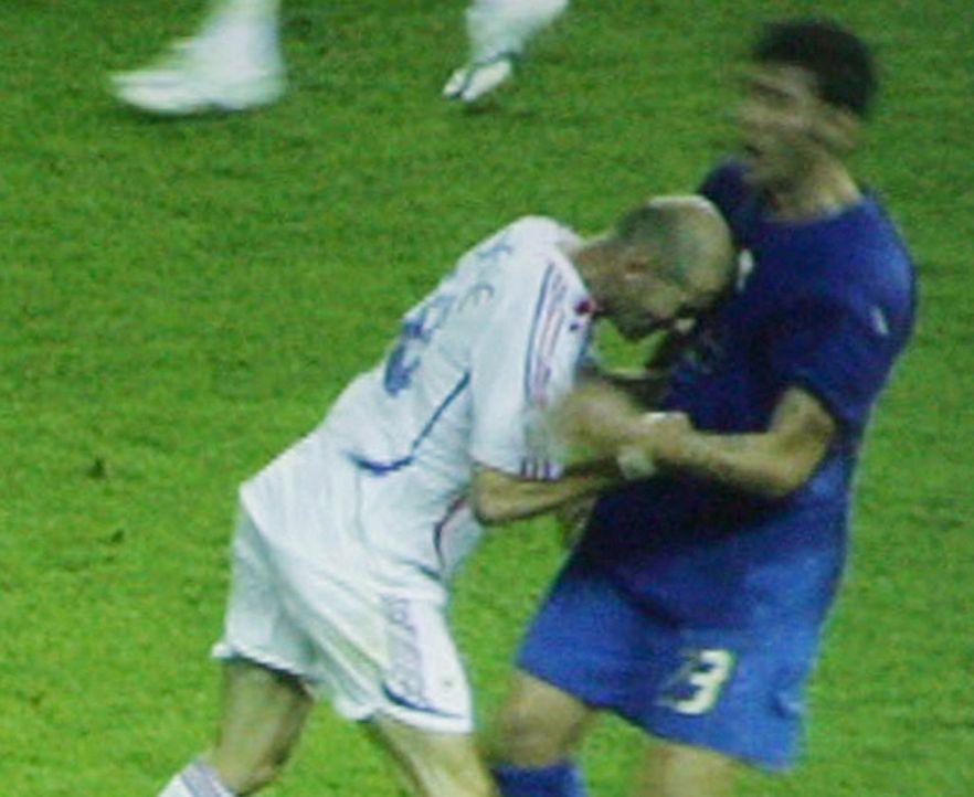 Pojednanie Materazziego z Zidanem