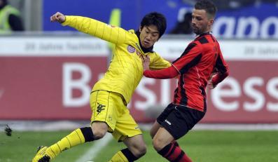 Borussia poległa we Frankfurcie 0:1