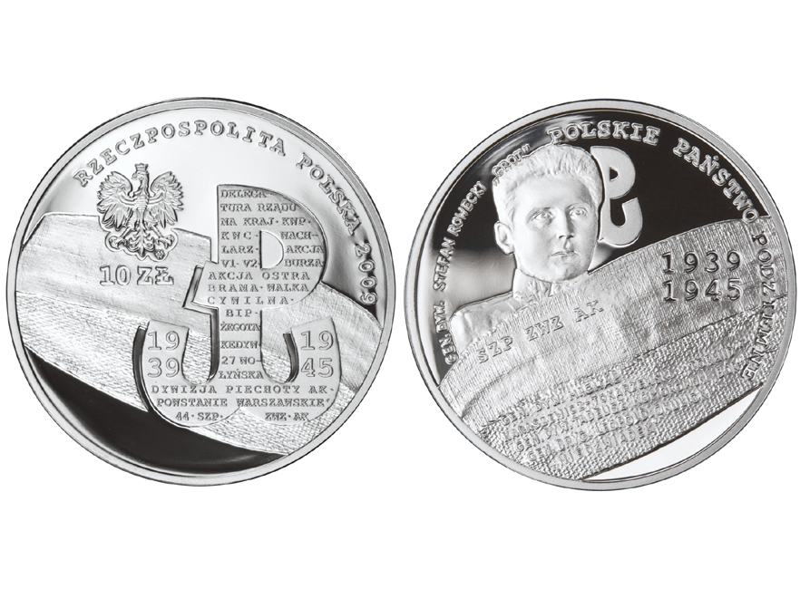 NBP: srebrne 10 zł najbardziej inspirującą monetą na świecie