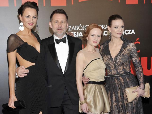 Maja Hirsch, Andrzej Saramonowicz, Dominika Kluźniak i Magdalena Boczarska