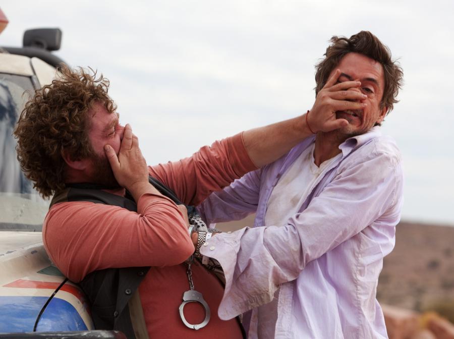 Skazani na siebie: Robert Downey Jr. i Zach Galifianakis