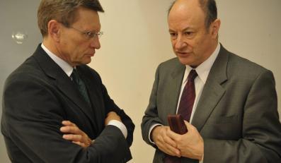 Leszek Balcerowicz i Jacek Rostowski