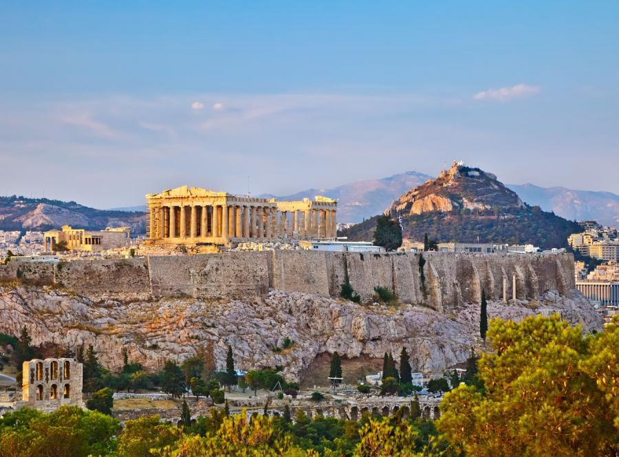 Ateński Partenon, zdjęce ilustracyjne