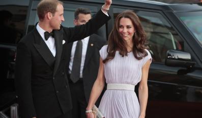 Książę William i księżna Catherine na gali BAFTA