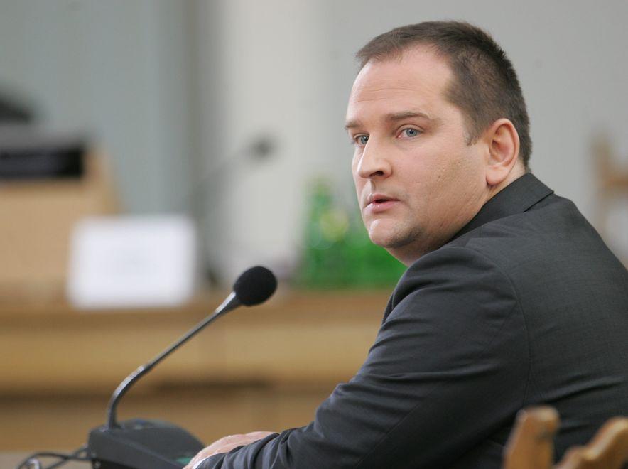 Minister Tomasz Arabski