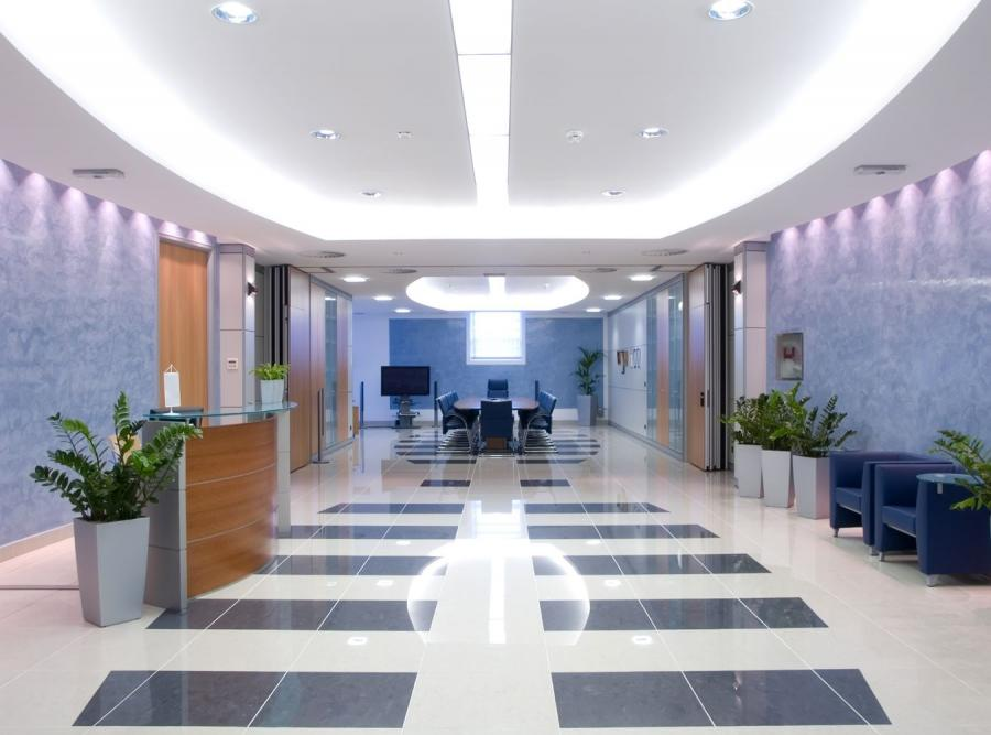 Hall w biurowcu