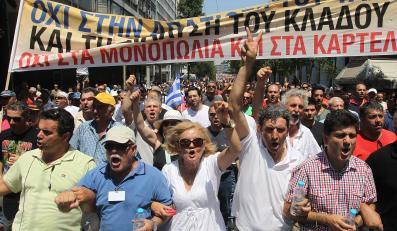 Bankructwo Grecji nie jest groźne, uspokajają analitycy