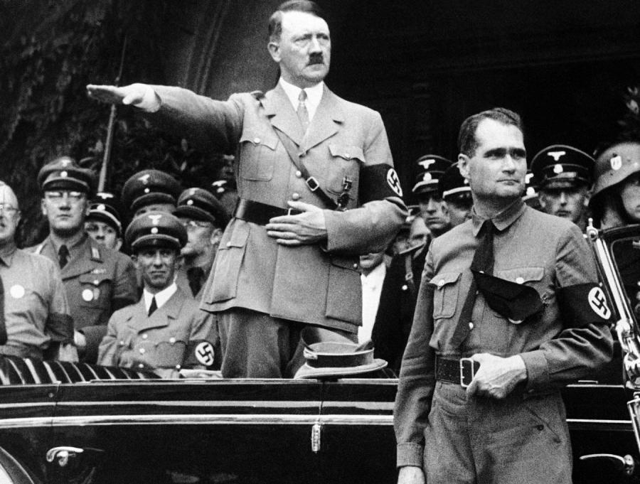 Adolf Hitler i Rudolf Hess