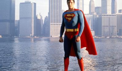 "Christopher Reeve jako ""Superman"""