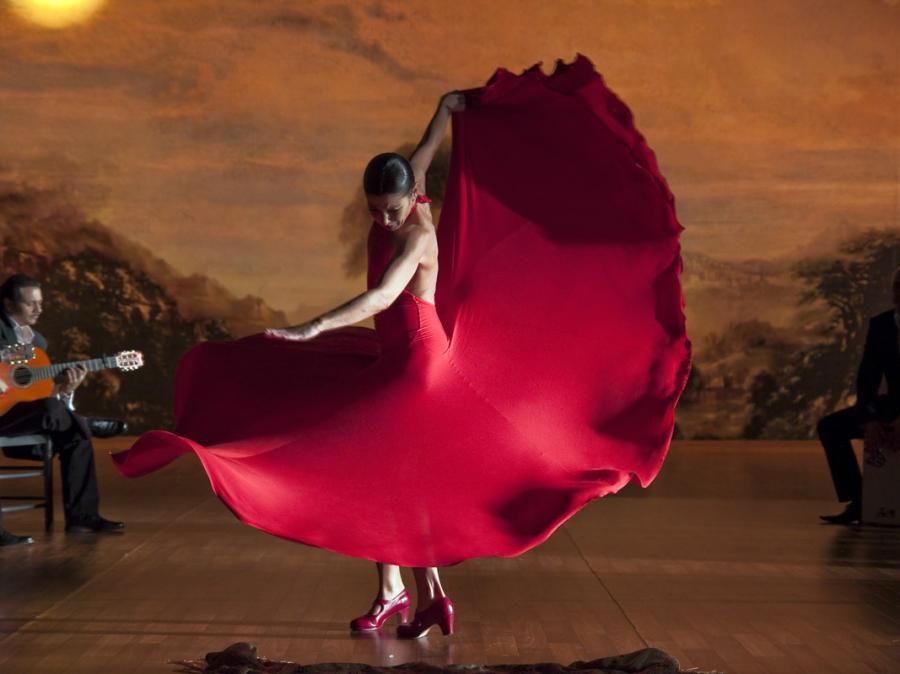 Mistrzyni flamenco Sara Baras