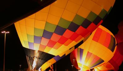 Startujące balony