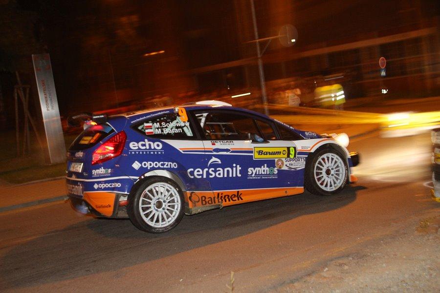 Rajd Barum - Sołowow najszybszy w mistrzostwach Europy