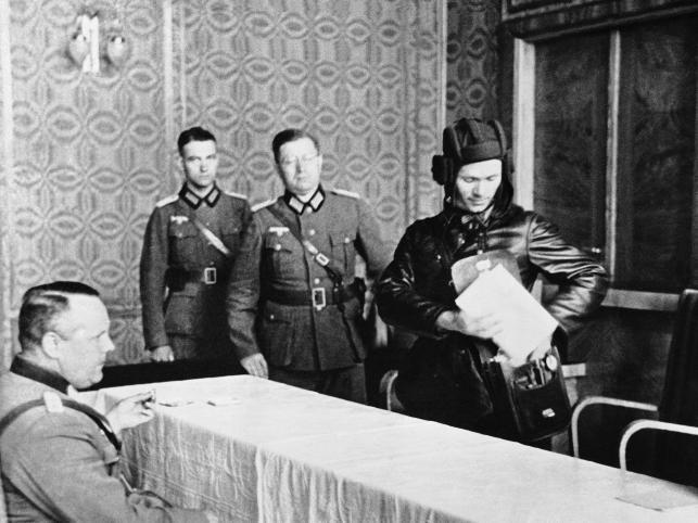 Spotkanie przedstawicieli wojsk III Rzeszy i ZSRR 23 września 1939 w Brześciu
