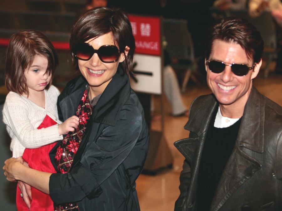 Tom Cruise z rodziną