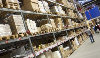 Magazyn sklepowy IKEA