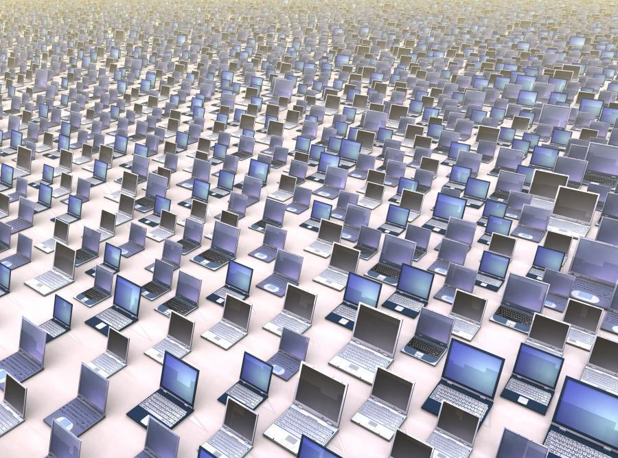 Komputery, zdjęcie ilustracyjne