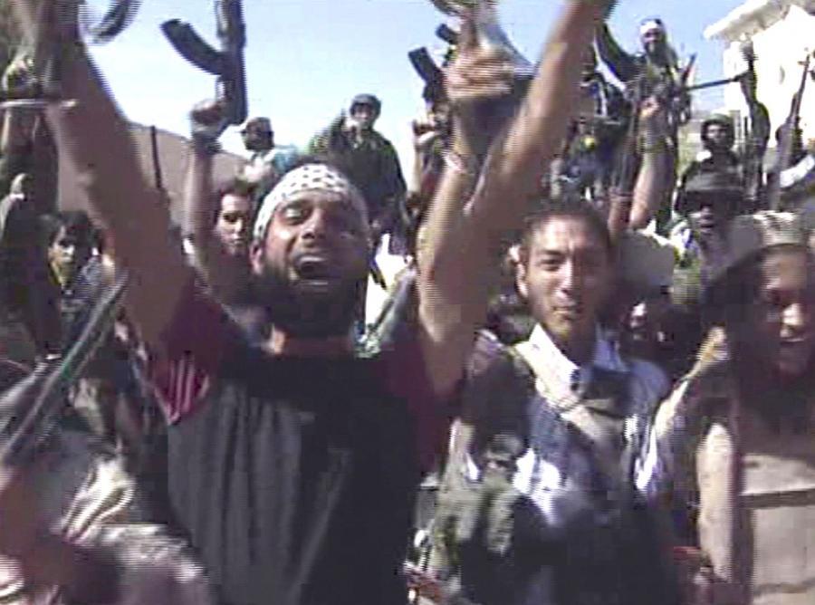 Tak cieszą się libijscy powstańcy