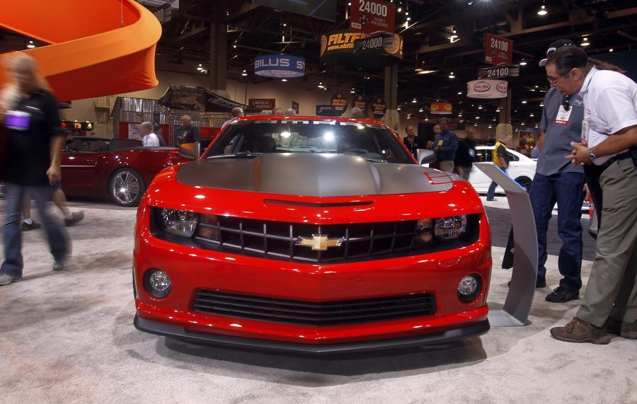 Chevrolet camaro został wybrany \