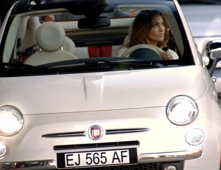 Fiat 500 i Jennifer Lopez