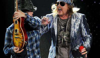 Guns N' Roses wśród sław rocka
