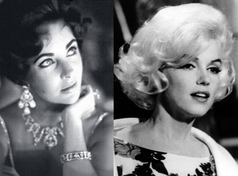 Elizabeth Taylor i Marilyn Monroe