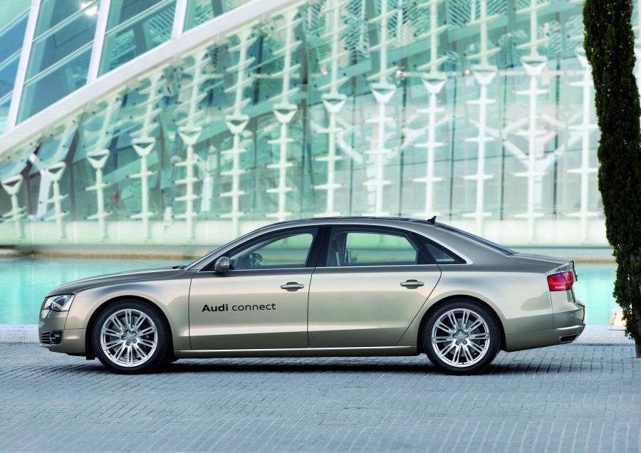 Audi testuje limuzynę A8 z technologią LTE