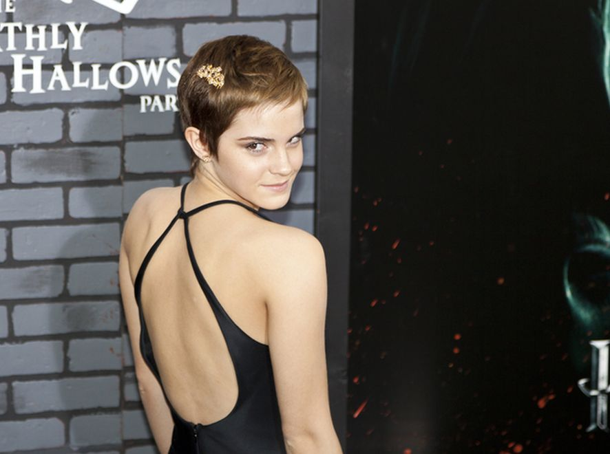 Emma Watson w roli byłej Colina Farrella