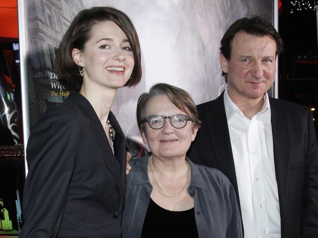 Agnieszka Grochowska, Agnieszka Holland i Robert Więckiewicz
