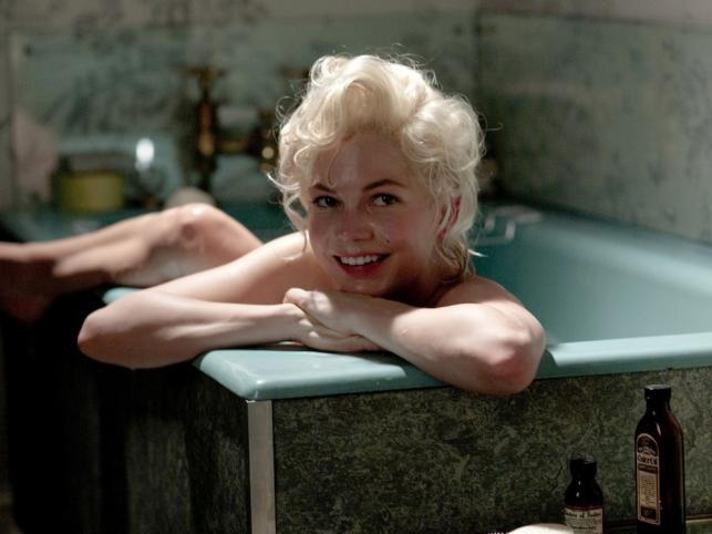 Michelle Williams jako Marilyn Monroe