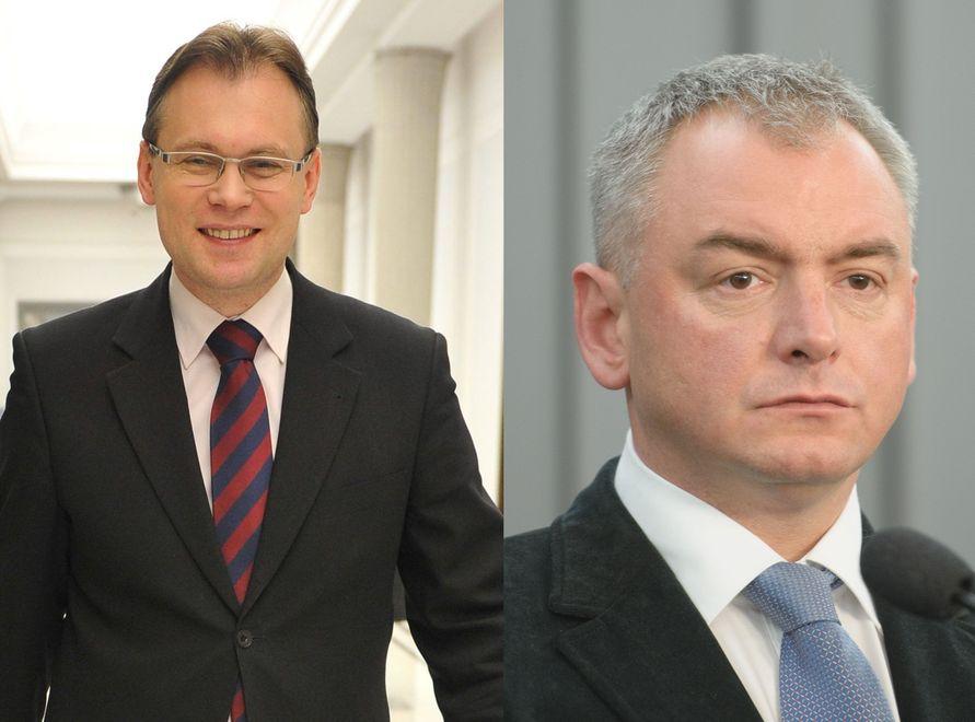 Arkadiusz Mularczyk i Artur Dębski