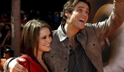 Jim Carrey z córką Jane