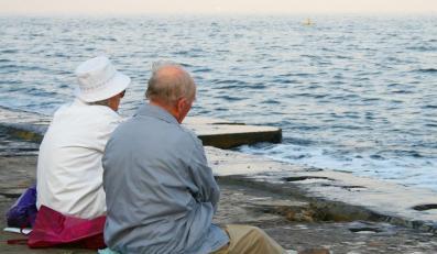 Para staruszków