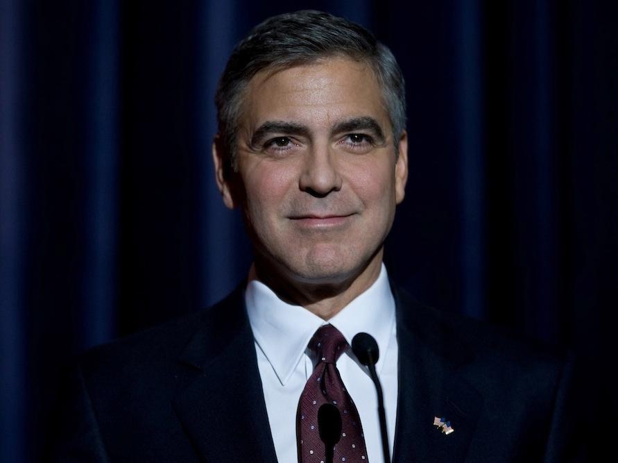 George Clooney jako kandydat na prezydenta w filmie \