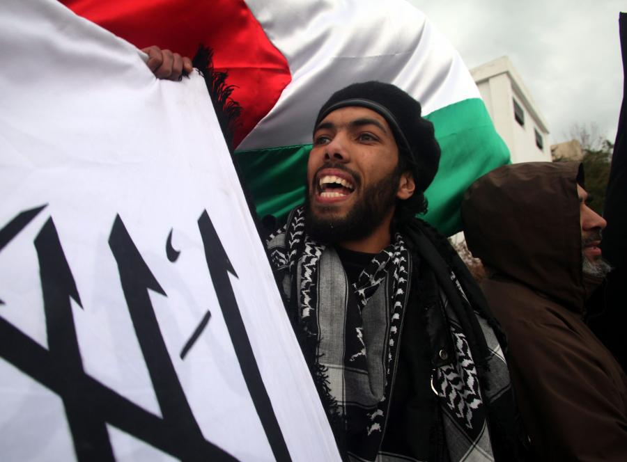 Ostry protest przed ambasadą syryjską w Tunisie