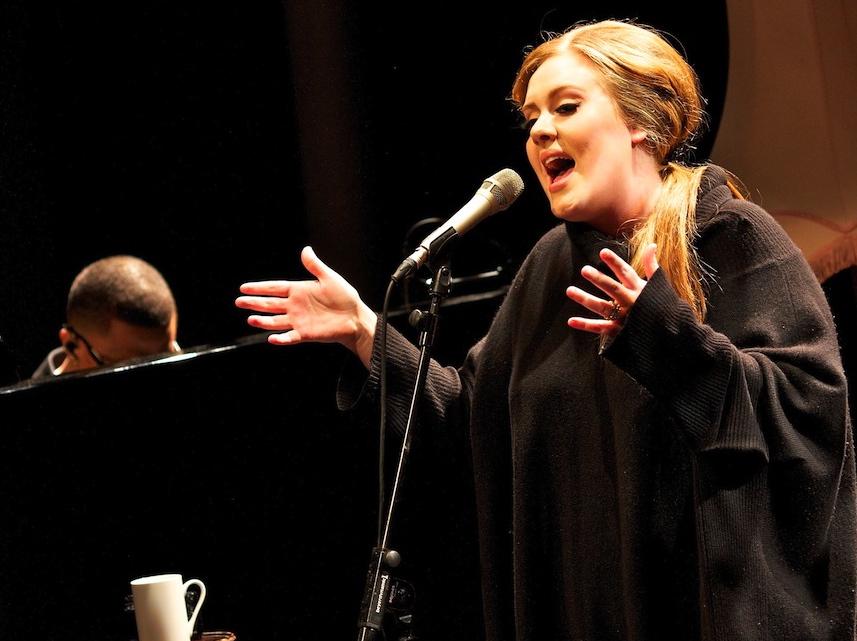 Adele jak większość kobiet