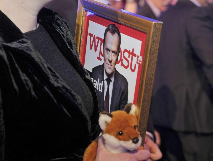 Donald Tusk Człowiekiem Roku Wprost