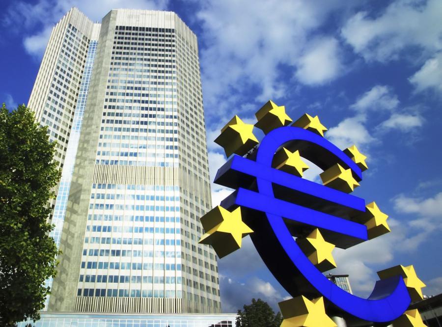 Wieżowiec Europejskiego Banku Centralnego we Frankfurcie nad Menem
