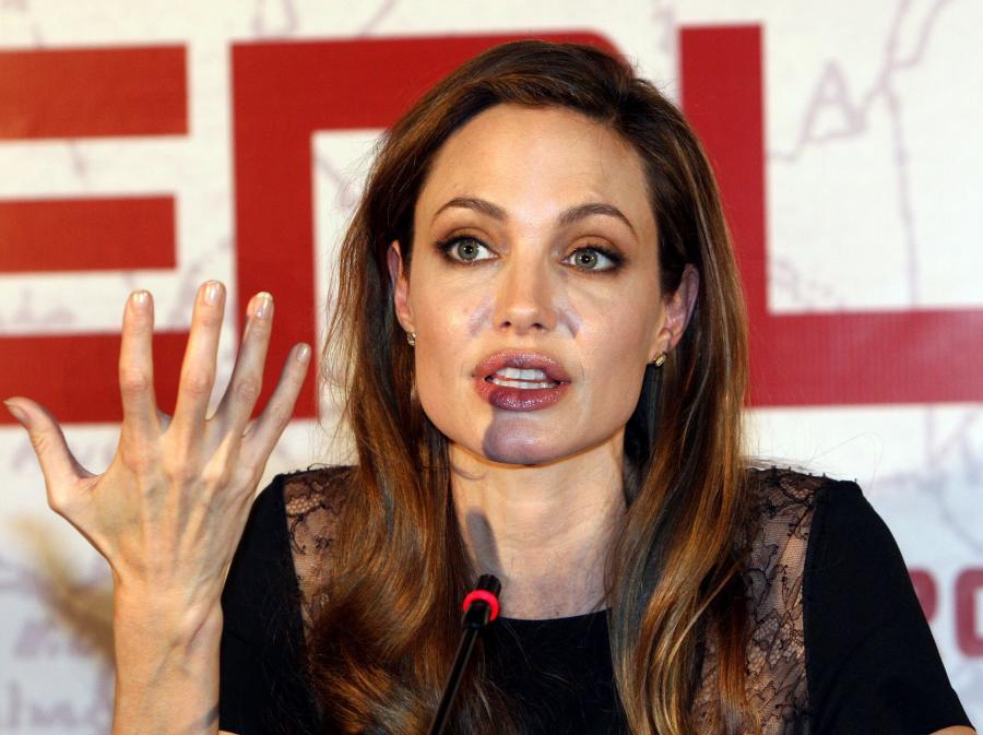 Angelina Jolie w Sarajewie