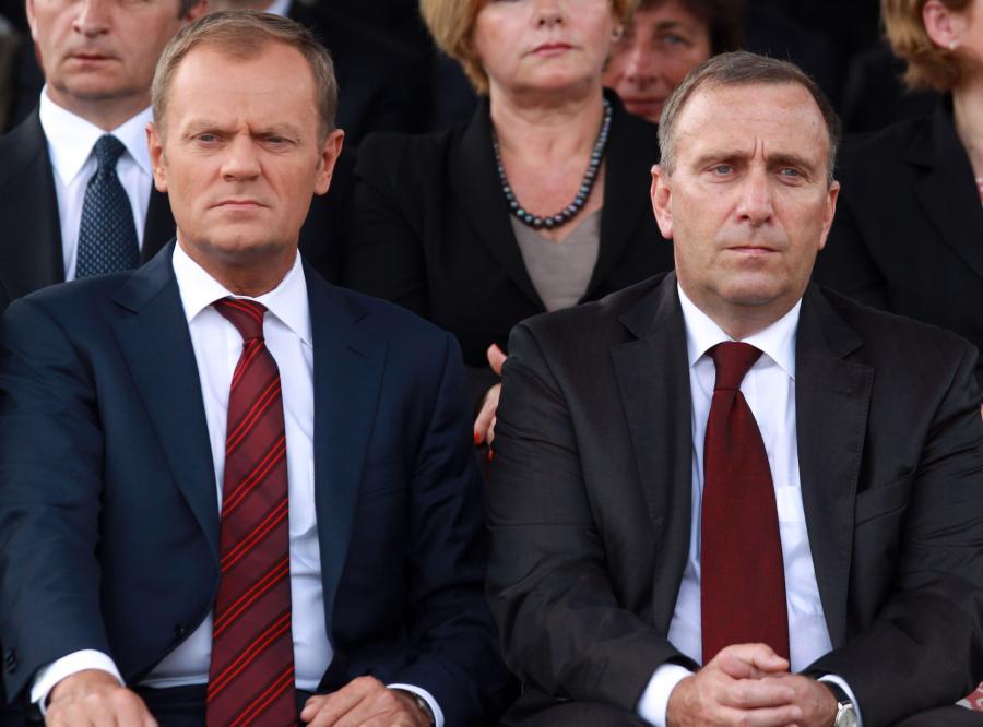 Donald Tusk zapewnia, że ma doskonały kontakt z Grzegorzem Schetyną