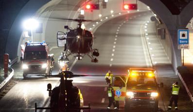 Wypadek belgijskiego autokaru w Szwajcarii