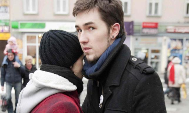 Bartłomiej i Katarzyna - rodzice sześciomiesięcznej Madzi