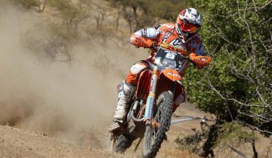 Kierowca teamu KTM Antoine Meo