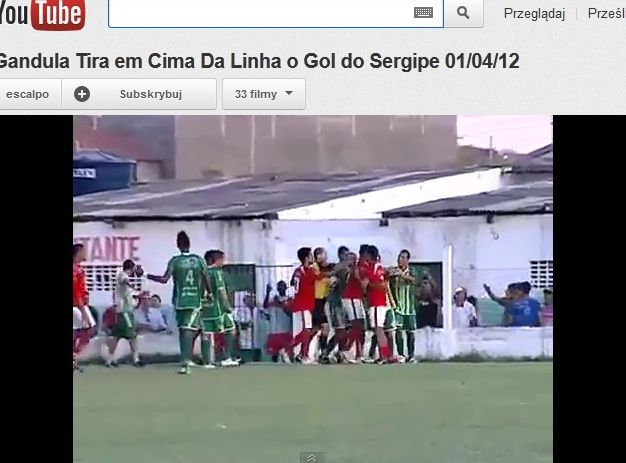 Piłkarze Guarany i Sergipe